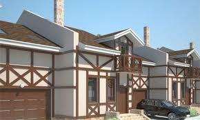Проектирование жилых комплексов из таунхаусов эконом класса